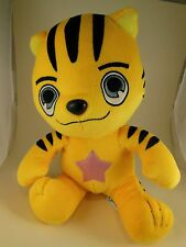 "Anime 11"" Star Q Yellow Tiger Velvet Tora Dora Pokemon Kigurumi RARE Awesome"