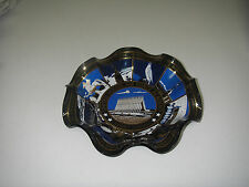 "Houze Art Glass Bowl Ruffled United States Air Force Academy 7"" Cadet Chapel."