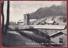 AREZZO CHIUSI DELLA VERNA 21 CASENTINO - NEVE NEVICATA Cartolina viaggiata 1956