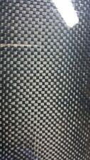 "Carbon Fiber Fiberglass Panel Sheet 12""×36""×1/32"" Glossy One Side Plain Weave"