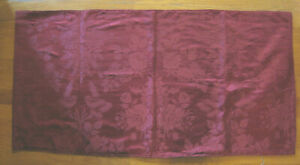 Antique Red Damask Cloth