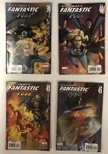 Ultimate Fantastic Four Comic Lot Issues 39,40,41,45 Devils Marvel Comics 4