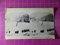 Antique Stereoscope Photograph of Winter on the Niagra Falls, USA Stereoview
