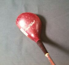 RARE VINTAGE MACGREGOR LIONEL HEBERT 691W PERSIMMON #2 FAIRWAY WOOD LEATHER GRIP