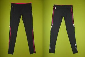 Women Running Pants SKINS A200 (XL) PERFECT !!! BLACK Fitness Gym Yoga