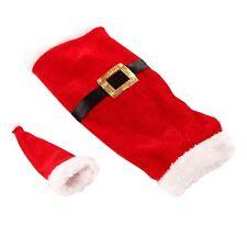 Xmas Clothes Clause Clothing Bag Wine Bottle Christmas Santa Cover Decoration