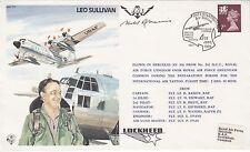 TP7aM USA Test Pilot Leo Sullivan,Signed Harold Ross Harris WW1 Pilot,Test Pilot