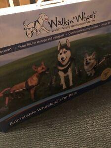 walkin wheels adjustable wheelchair for pets size medium
