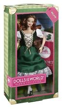 BARBIE Collector IRLANDA Ireland DOLLS OF THE WORLD W3440 Mattel ORIGINAL Doll