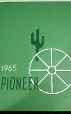 BENTLEY HIGH SCHOOL YEARBOOK~LIVONIA,MI~1965 PIONEER~SHIPS FREE