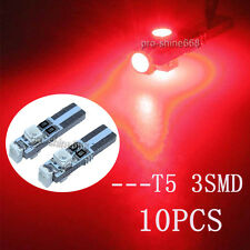 T5 2731 74 37 17 18 70 73 79 85 86 2721 wedge base 3smd 2835 led light bulbs RED