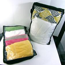 "UNDER BED STORAGE BAG (LOT OF 2) Zip UP Garment Protector 30""L x 18""W x 7""D NEW"