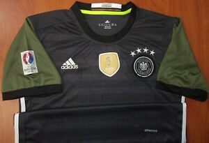 Adidas Germany FIFA World Champions Climacool Performance Youth Soccer Jersey XL