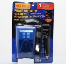 NEW 12V DC To 110V AC 60Hz Portable Power Inverter 100W For Car Boat RV Camping