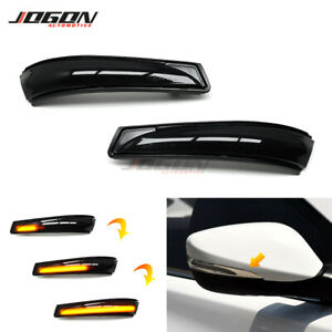 LED Dynamic Turn Signal Side Mirror Light For Hyundai Elantra 11-15 i30 Veloster