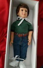 Vintage My Twinn Boy Doll Original Clothes 2002 23 inches Original Box pre-owned
