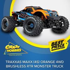 TRAXXAS MAXX (4S) ORANGE 4WD BRUSHLESS MONSTER TRUCK *IN STOCK*