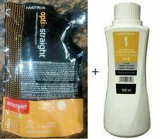 Matrix Opti Straight Hair Straightening Cream 125 ML + 500 ML Neutralizer Combo