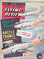 ROYAL AIR FORCE FLYING REVIEW MAGAZINE, 1960 JUN BATTLE pour la France, Morane 406