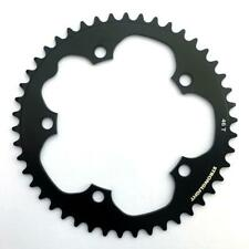 Stronglight Dural 5083 9/10 Speed Chainring   130mm BCD   Black   All Sizes