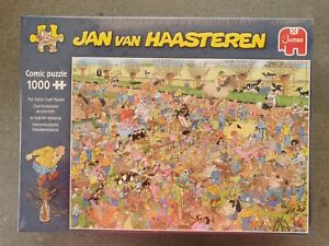 """Jan van Haasteren""""The Dutch Craft Market""""New release. Still in plastic."""