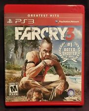 Far Cry 3 (Sony PlayStation 3, 2012PS3) Complete, Clean, Free Shipping