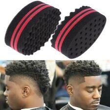 Short Hair Twist Sponge Big Holes Hair Brush Sponge Twist Wave Barber Tool
