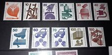 Berlin 1971-74 accident prevention full set unmounted mint