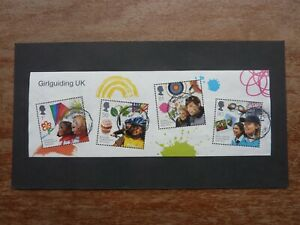 GB 2010 Centenary of Girl Guiding MINI SHEET Fine Used off-paper (S.G. MS3025)