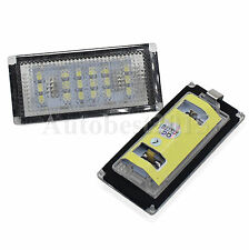 2pcs White LED License Plate Light For BMW 3 Series E46 2 Door Coupe New