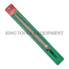 "New KING 10"" Bastard Cut HALF ROUND FILE, Double Cut, Steel, American Grading"