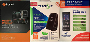 Prepaid Cell Phones: Samsung Array Boost Mobile/Samsung S125G / LG 440G, Select