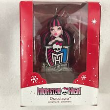 American Greetings Monster High Draculaura Christmas Ornament NEW Sign 2014