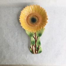 Sunflower Spoon Rest Happy Kitchen