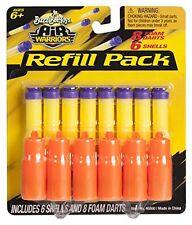 Buzz Bee Toys Air Warriors 8 Suction Dart/ 6 Shell Refill
