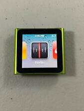 Apple iPod nano 6th Generation 8GB Green MC690LL/A Touch Screen Radio FREE USPS