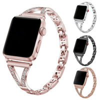 Luxury Stainless Steel Watch Strap Band Bracelet For Apple Watch iWatch 1/2/3/4