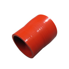 """2.5""""-2.25"""" Red Silicon Hose Reducer Straight Coupler for Intercooler Pipe Turbo"""