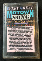 Vintage 1984 Every Great Motown Song Vol 1: The 1960's Cassette Tape