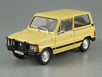 ARO 10 Romanian SUV Yellow 1980 Year 1/43 Scale Collectible Diecast Model Car