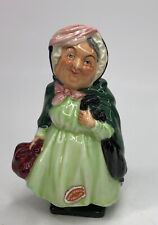 """Royal Doulton Dickens Character Figurine Early Series """"Sairey Gamp� 4� Tall"""
