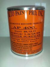 Acrylic lacquer high build primer surfacer  gray auto bodyshop restoration paint