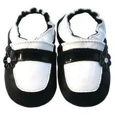Soft Sole Leather Baby Shoes Toddler Child Girl Infant Kid Maryjane Black 12-18M