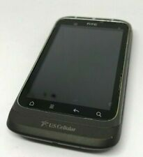 HTC Wildfire S ADR6230 US Cellular 3G Touchscreen Smartphone For Parts or Repair