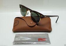 Ray Ban Clubmaster 3016 W0366 Tortoise Sunglasses Black Frame 51mm - M5