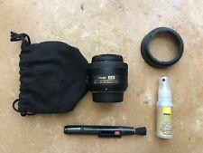 Nikon Nikkor AF-S DX 35mm f1.8G Prime Lens w/ HB-46 Hood & Cleaning Kit