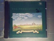 """Vox Neerlandica 1 [CD] Netherlands Chamber Choir"""