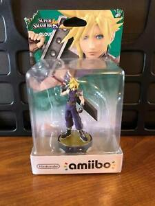 Cloud Amiibo Super Smash Bros. Nintendo Switch - *New Sealed in Box*