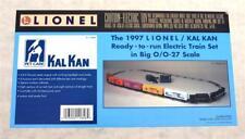 Vintage 1997 Lionel 6-11846 Kal Kan Pet Care Train Set O/O-27 Scale - NIB