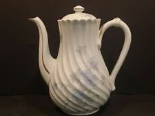 Vintage Haviland Limoges Coffee Espresso Pot - Valmont, Torse, Swirl